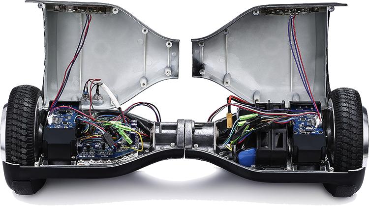 Открытый гироскутер