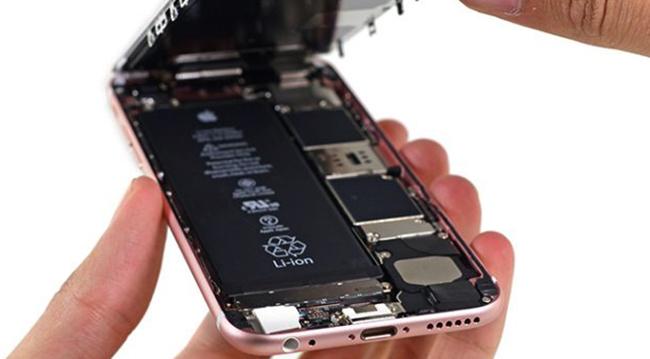Открытие смартфона iPhone 6