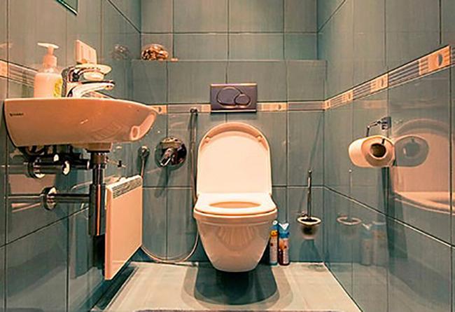 Отремонтированный туалет