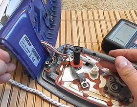 Сколько в среднем стоит ремонт утюга?
