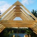 Сколько стоит построить двухскатную крышу: особенности и цена
