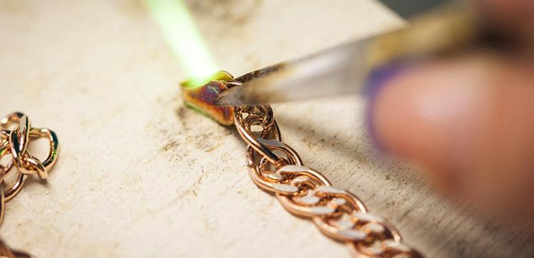 Во время ремонта цепочки