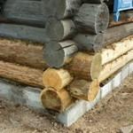 Сколько стоит замена фундамента под деревянным домом — примерные цены