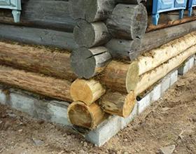 Сколько стоит замена фундамента под деревянным домом