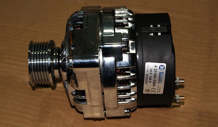 Б/у генератор от приоры