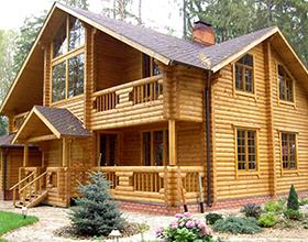 Сколько в среднем стоит построить дом из оцилиндрованного бревна