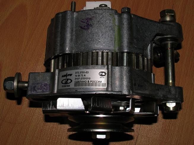 Б/у генератор на ВАЗ 2107