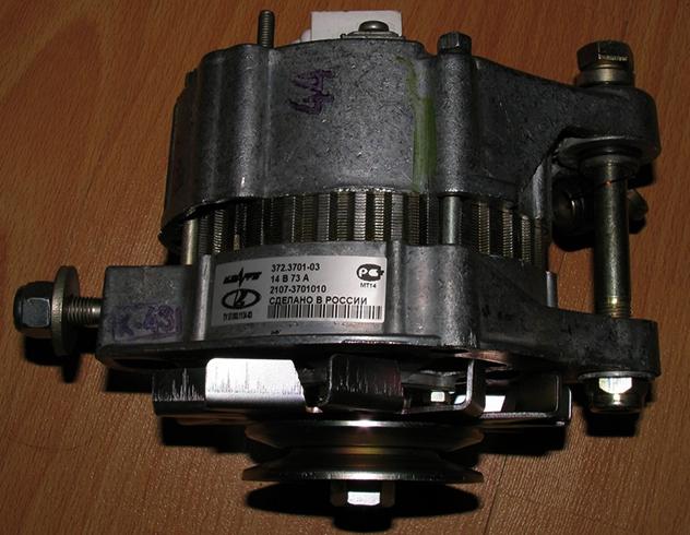 Как выглядит генератор от ВАЗ 2109