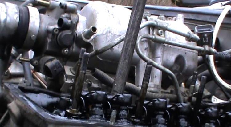 Как выглядит ремонт двигателя на ВАЗ 2107
