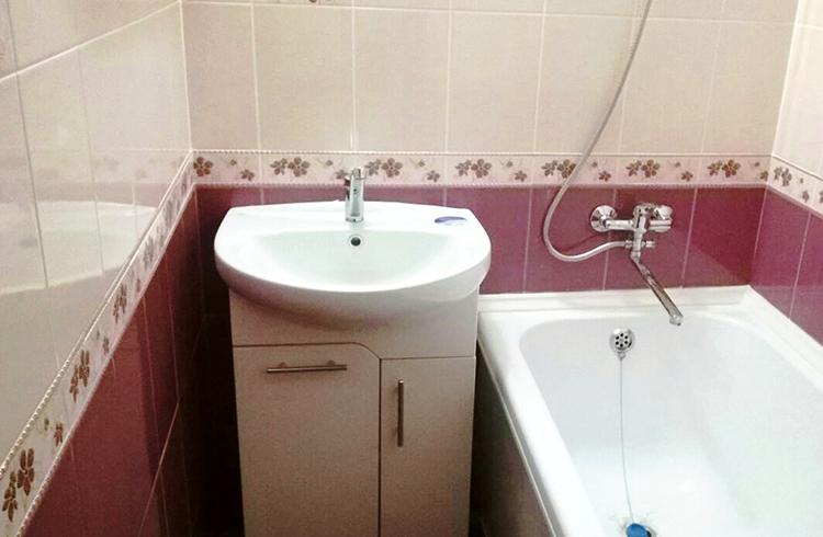 Ремонт небольшой ванной