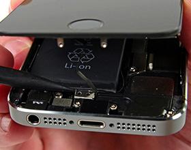 Сколько в среднем стоит замена аккумулятора на айфон 5s?
