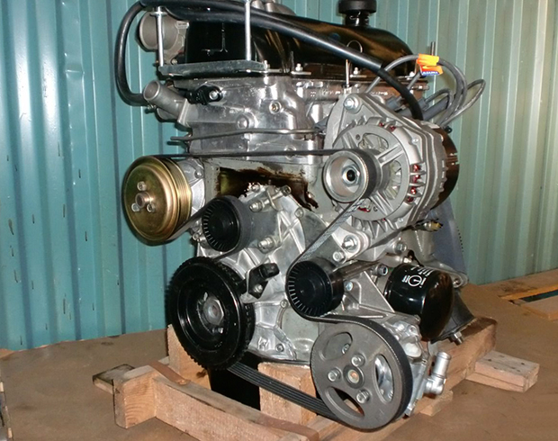 Новый двигатель на Шевроле Ниву