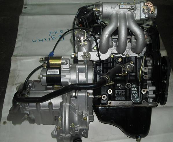 Двигатель на автомобиль Ока