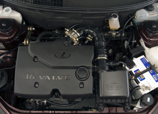 Двигатель в Приоре