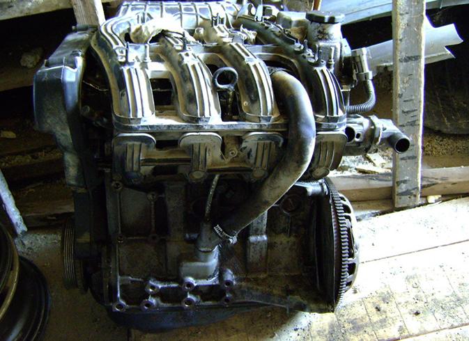 Двигатель перед установкой