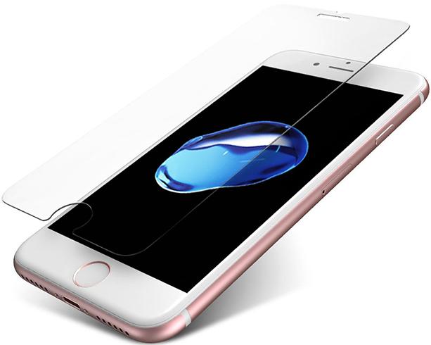 Как выглядит защитное стекло на iPhone 7