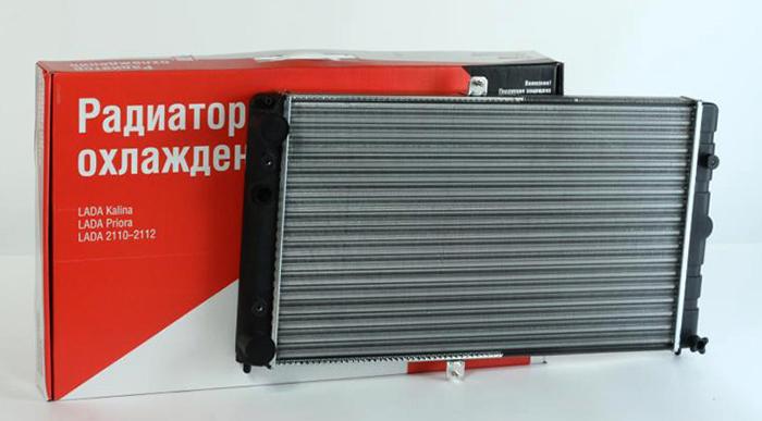 Комплект радиаторы на ВАЗ 2112