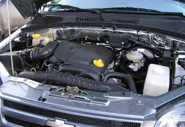 Двигатель в ниве шевроле