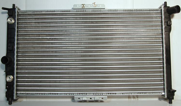 Новый радиатор на Ланос