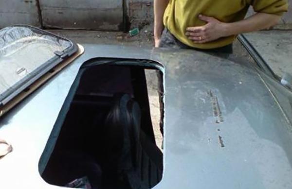 procust - Установить люк в авто