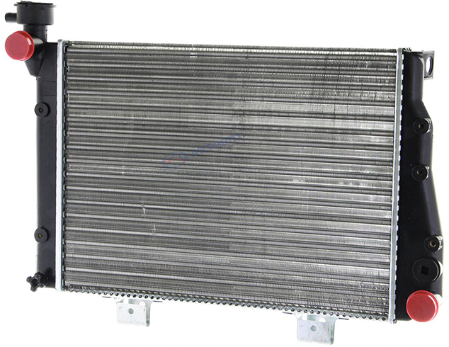 Как выглядит радиатор на ВАЗ 2107