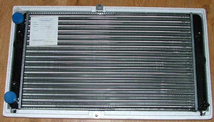 Новый радиатор на ВАЗ 2112