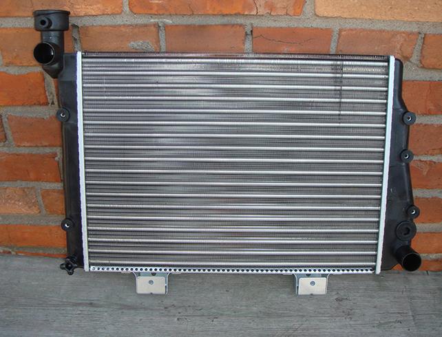 Новый радиатор на ВАЗ 2114