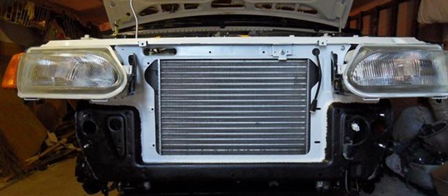 Замена радиатора на ВАЗ 2114