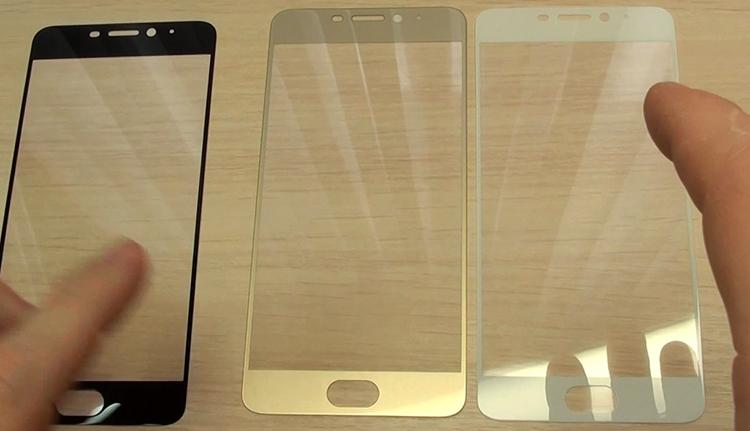 Разные стекла на Meizu M5