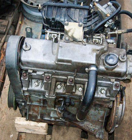 Двигатель от ВАЗ 2114