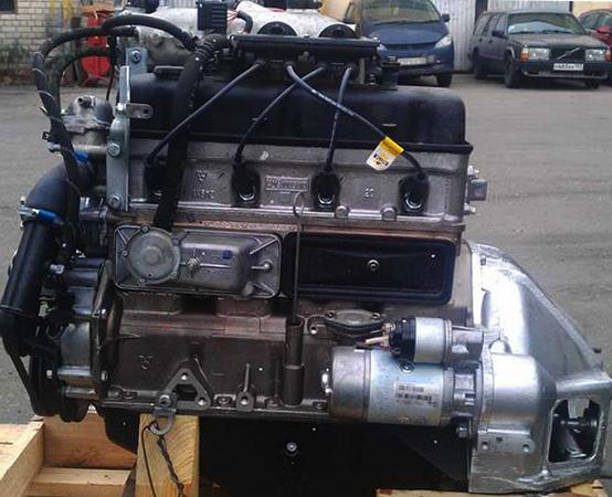 Двигатель от Газели