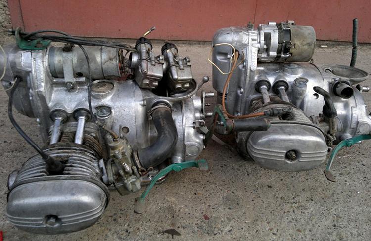 Двигатель с коробкой передач