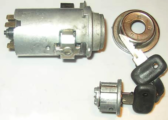 Комплект зажигания на ВАЗ-2107