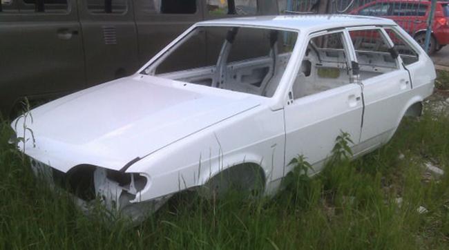 Новый кузов на ВАЗ 2114