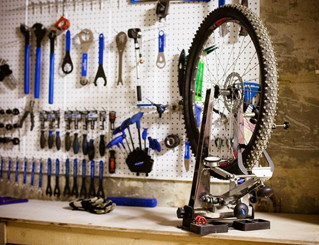 Велосипедная матсерская