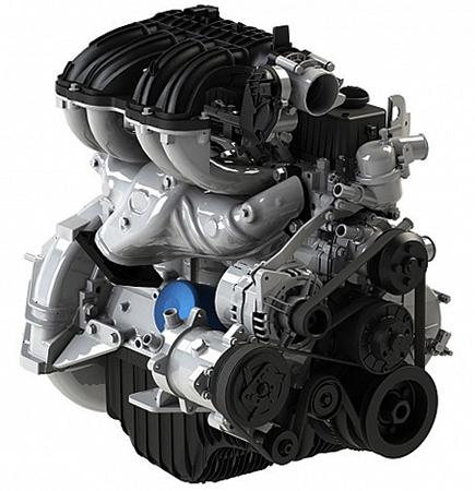 Новый двигатель на Газель