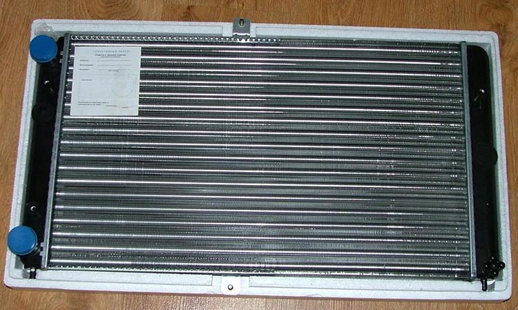 Новый радиатор на ВАЗ-2110