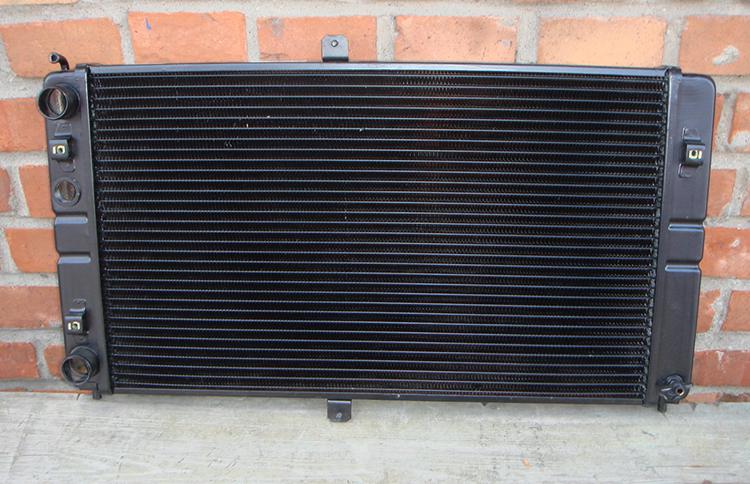 Радиатор перед установкой