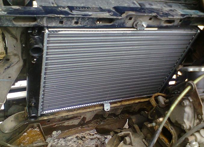 Новый радиатор на ВАЗ 2109