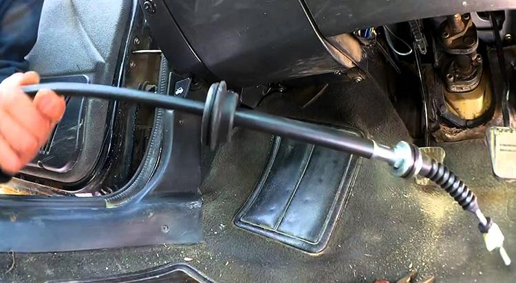 Замена тросика сцепления на ВАЗ 2109
