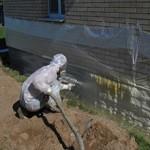 Сколько в среднем стоит утеплить фундамент дома