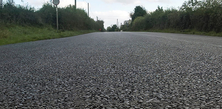 Заасфальтированная дорога