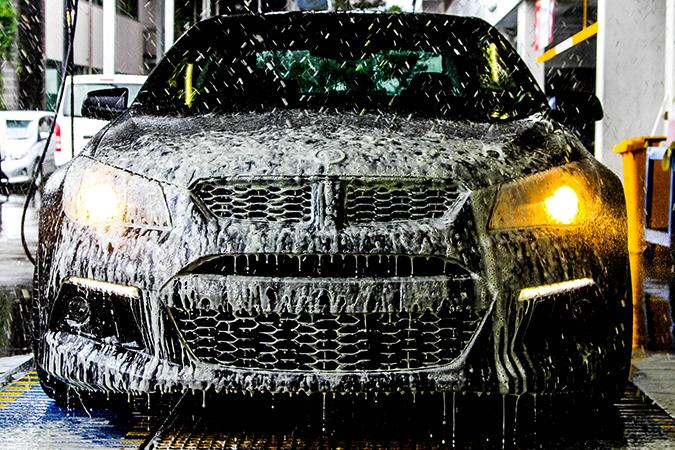 Мытье машины