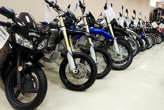Много мотоциклов