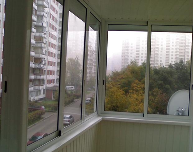 Современный алюминиевый балкон