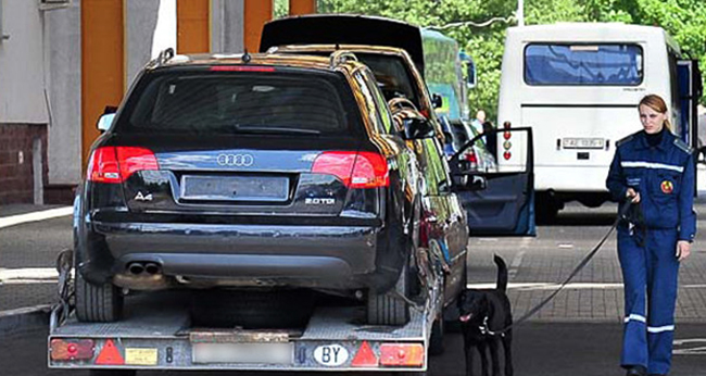 Автомобиль из Германии