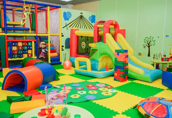 Небольшая детская игровая комната