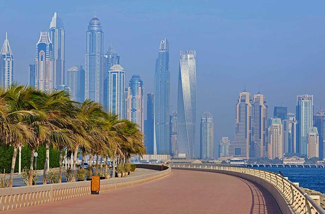 Красивый Дубай