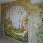 Сколько в среднем по России стоит поклеить фреску