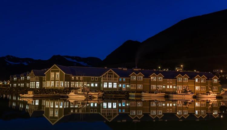Отель в Исландии